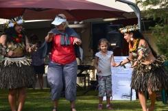 Learning a Kiribati Dance