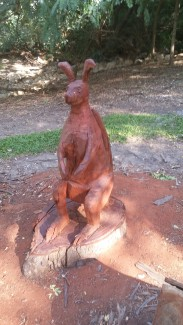 Sculpture Matty G - photograph June Perkins