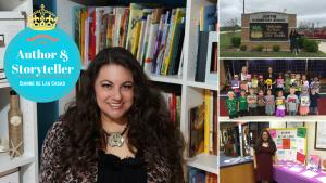 Author and Storyteller Dianne de Las Casas YouTube Canva
