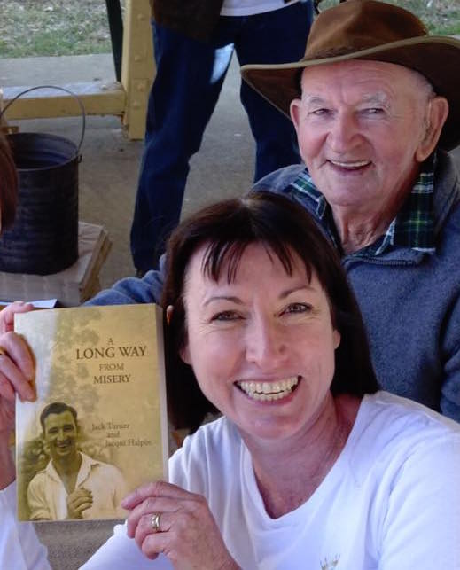 Jacqui Halpin, Jack Turner, A Long Way from Misery, Book   Signing-1
